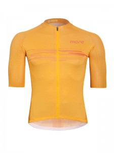 Koszulka kolarska Jersey SuperLight Yellow